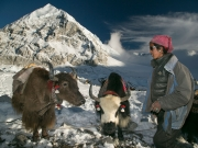 Still uit 'Hemelbestormers', een documentaire van de EO over een Himalaya-expeditie