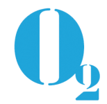 Logo O2 Communicatie