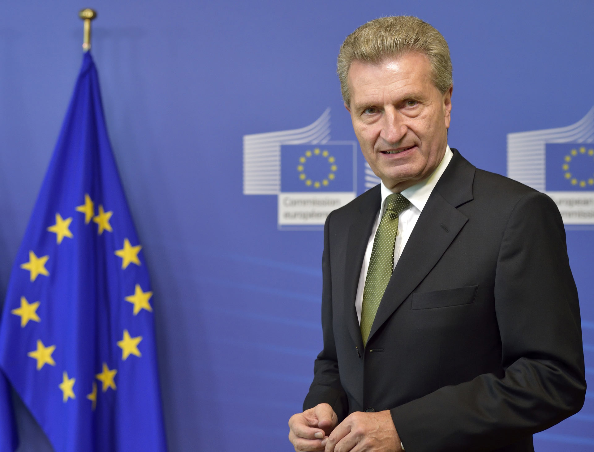 EC-commissaris Günther Oettinger (Digitale Economie) | Georges Boulougouris / Europese Unie