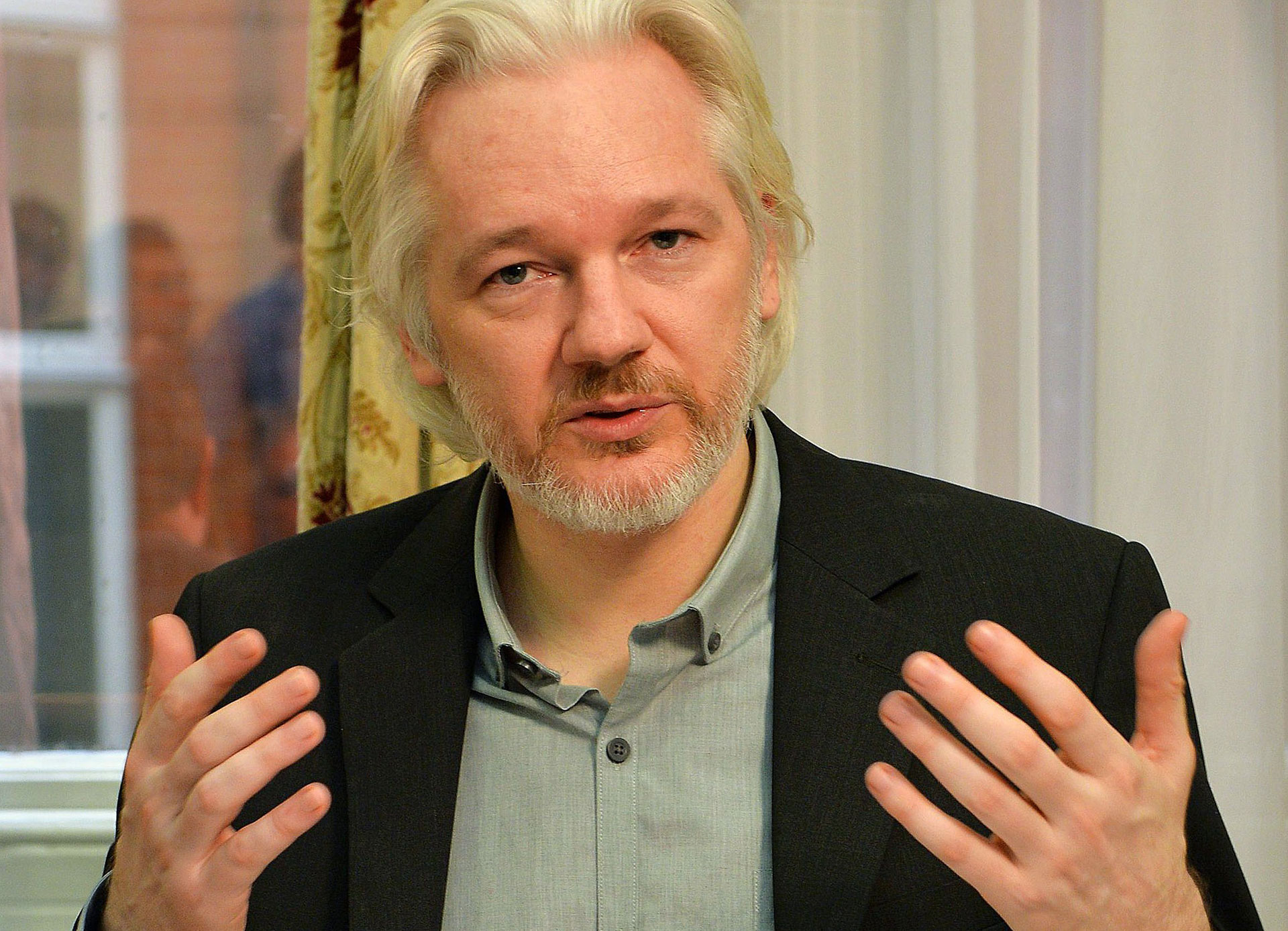 Julian Assange | J Stillwell / AFP