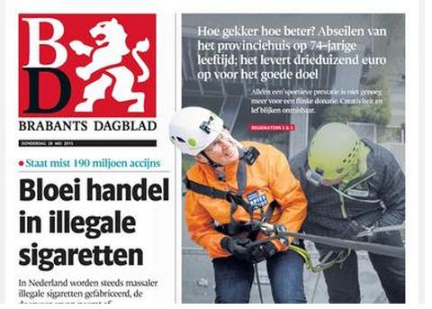 Brabants Dagblad brengt editie Uden-Veghel terug