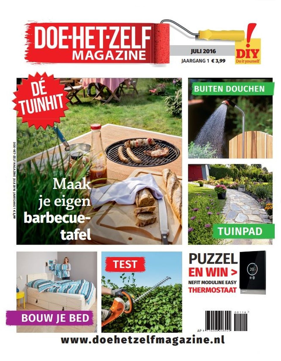 Nieuw tijdschrift doe het zelf magazine for Zwemvijver doe het zelf