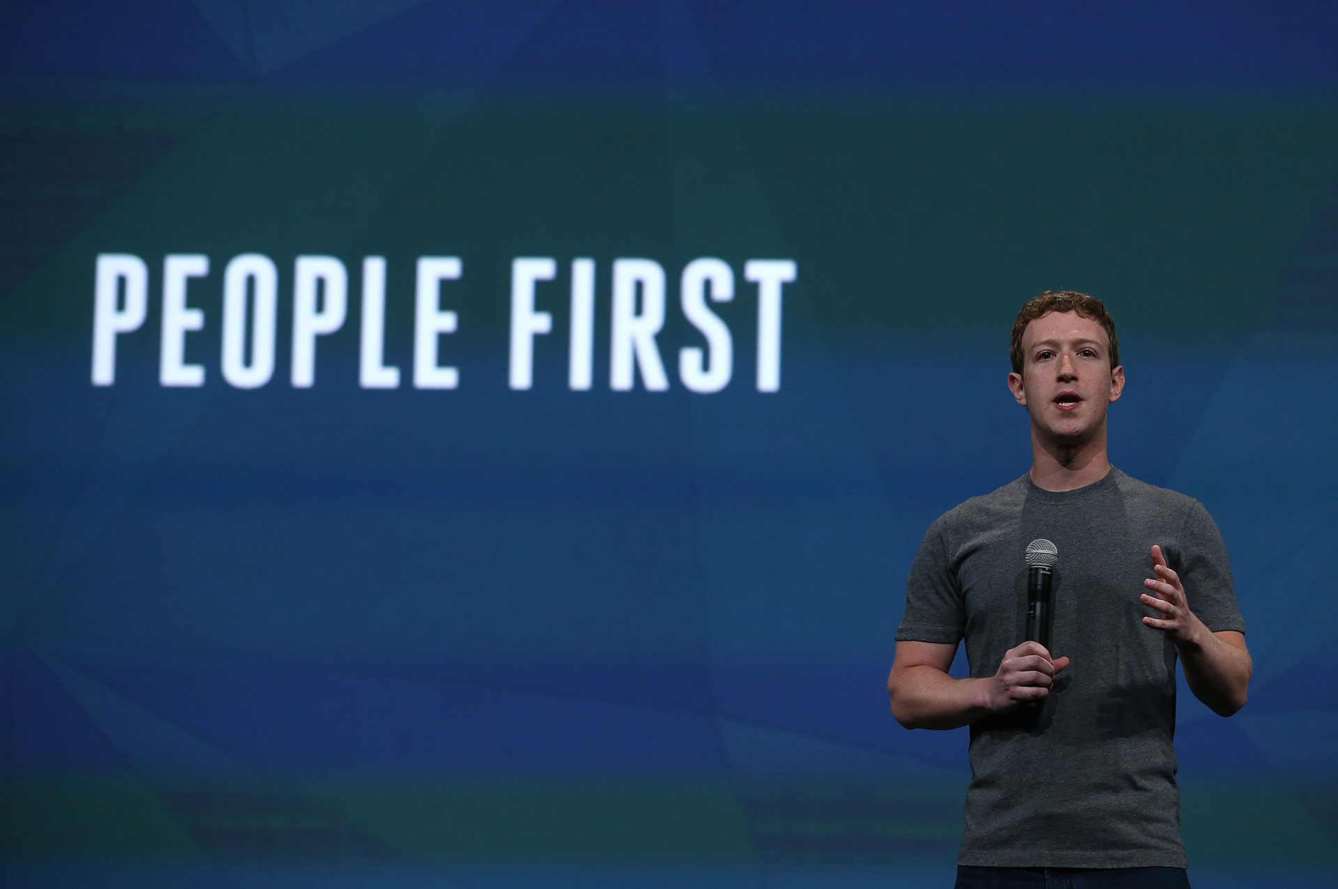 Facebook-topman Mark Zuckerberg | AFP