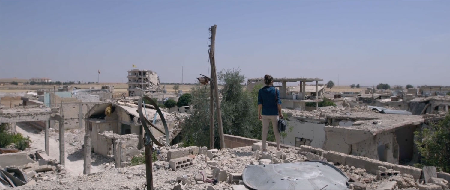 Een still uit de winnende documentaire Radio Kobani | Reber Dosky