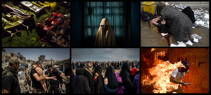 De zes genomineerden voor de World Press Photo Award | WPP